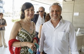 Élida Hermida y Claudio Ferrari