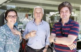 Valeria Pattacini, Alberto Etchegoyen y Galo Soler Illia