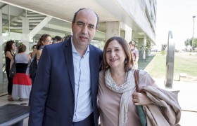 Marcelo Paz y María Matilde Ollier