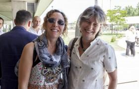 Nerina Visacovsky y Patricia Kandus