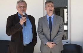 Decano Claudio Ferrari y rector Carlos Greco