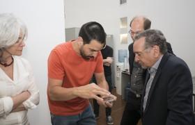 Susana Levy, Federico Golmar, Francisco Parisi y Lino Barañao
