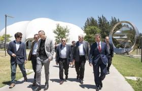 Galo Soler Illia, Aníbal Gattone, Juan Ugalde, Lino Barañao, Alberto Carlos Frasch, Carlos Greco y Francisco Parisi