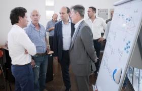 Gabriel Sánchez Zinny, Carlos Eyharchet, Marcelo Paz y Carlos Greco