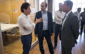 Gabriel Sánchez Zinny, Marcelo Paz y Carlos Greco