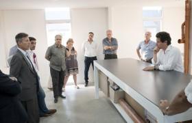 Carlos Greco, Juan Iglesias, Roberto Busnelli, Graciela Runge,  Gustavo Álvarez, Carlos Eyharchet y Gabriel Sánchez Zinny