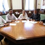 Gabriela Michetti recibió a autoridades de la UNSAM