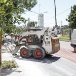 Continúan las obras de ensanchamiento de la Avenida 25 de Mayo