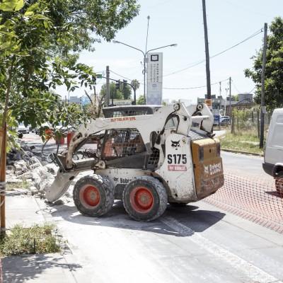Comenzaron las obras de ensanchamiento de la Avenida 25 de Mayo