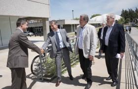 De izq. a der.: Rodolfo Sánchez, Carlos Greco, Jorge Elustondo y Alberto Carlos Fasch