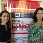 Heidi Canzobre habló sobre el trabajo del Instituto Nacional de las Mujeres
