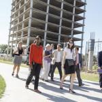 Representantes del Banco Mundial recorrieron el Campus Miguelete
