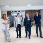 El rector de la Universidad Nacional de Rafaela visitó la UNSAM