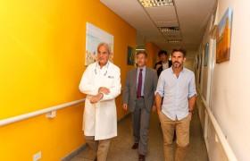 De izq. a der.: Hugo Rodríguez Isarn, Carlos Greco y Pablo Fuentes