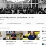 El Instituto de Arquitectura lanzó su canal de YouTube