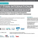 1.° Tyan International Thematic Workshop