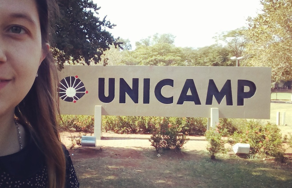 Daniela Fernandez en UNICAMP