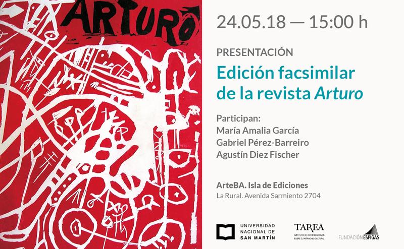 Invitación Centro Espigas ArteBA