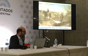 Daniel Kozak, del Instituto de Arquitectura, habló del caso del Arroyo Maldonado como patrimonio urbano.