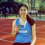 Una alumna de la UNSAM obtuvo su tercera medalla de oro en los Juegos Universitarios