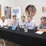 Raanan Rein, Mariano Gruschetsky y Rodrigo Daskal presentaron su nuevo libro
