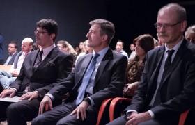 Matías Fuentes, Carlos Greco y Jean-Marc Bonnisseau