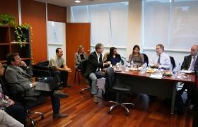 De izq. a der.: Juliana Cassataro, A. Gattone, Juan Pablo Fededa, Lovisa Ericson, C. Bolzi, A. Tonina, Marina Simian, R. Grimes y S. Chater