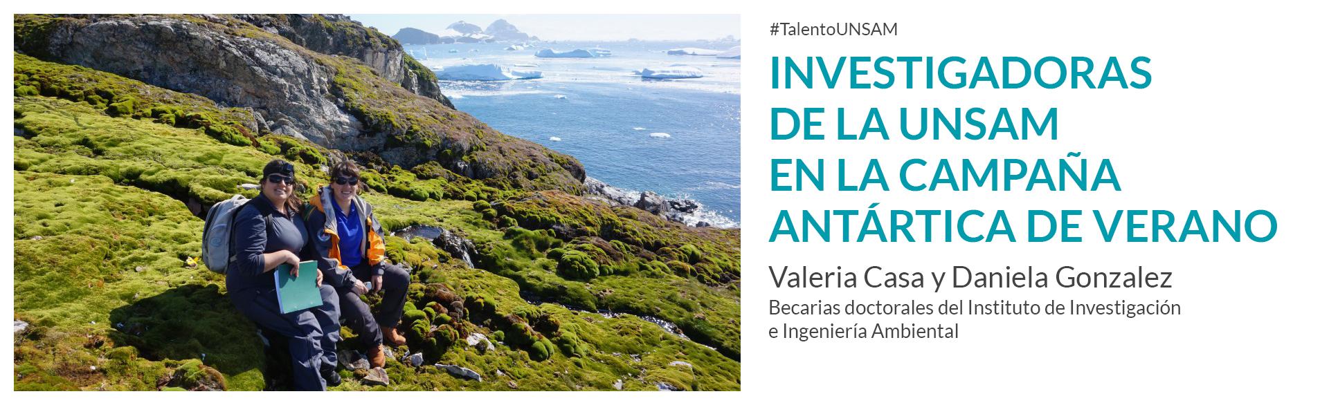 Investigadoras 3iA en la Campaña Antártica de Verano