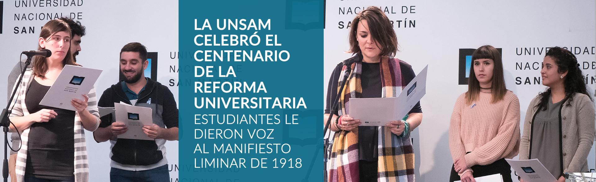 100 Años de la Reforma Universitaria