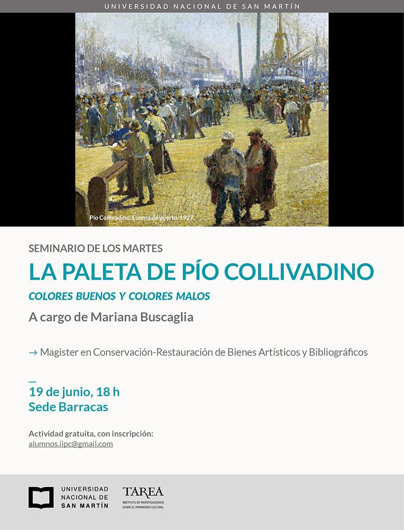 Seminario: La paleta de Pío Collivadino. Colores buenos y colores malos