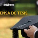 Defensa de Tesis de Maestría en Educación, Lenguajes y Medios