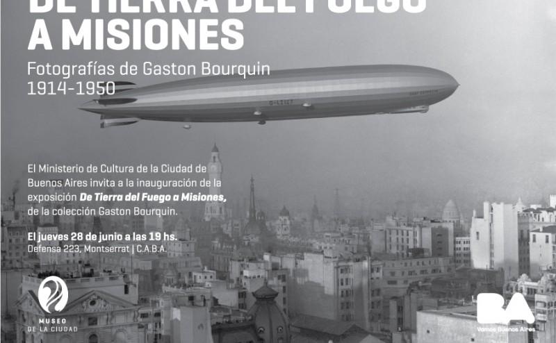 De Tierra del Fuego a Misiones. Gastón Bourquin.