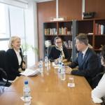 La embajadora de Suecia en la Argentina visitó la UNSAM