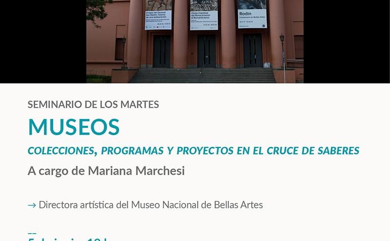 Museos. Colecciones, programas y proyectos en el cruce de saberes.