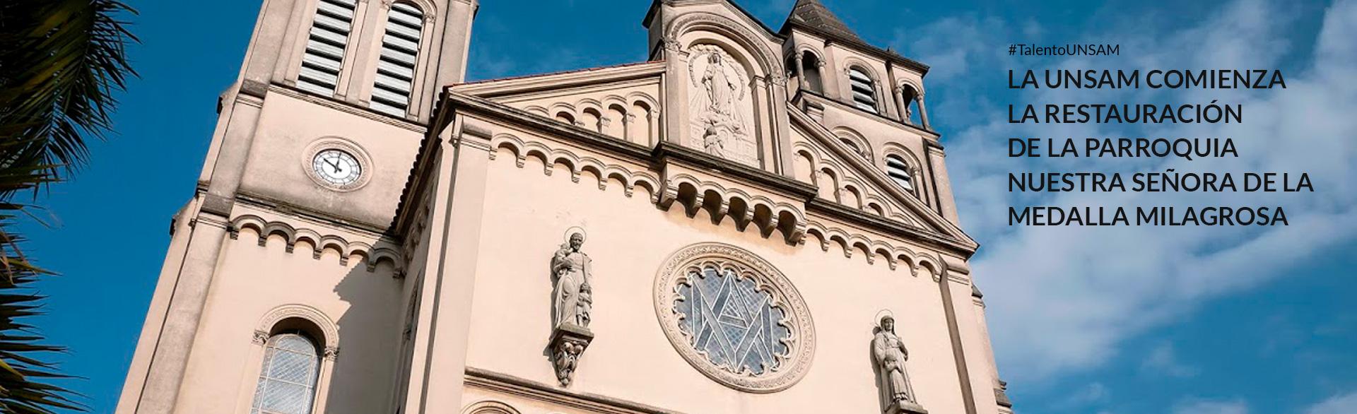 Restauración iglesia Medalla Milagrosa