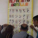 Se realizó un encuentro de alfabetización en braille en el CUSAM