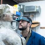 La UNSAM restaura mascarones de proa del Museo Quinquela Martín