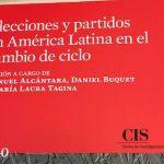 Nuevo libro de María Laura Tagina: <i>Elecciones y partidos en América Latina en el cambio de ciclo</i>