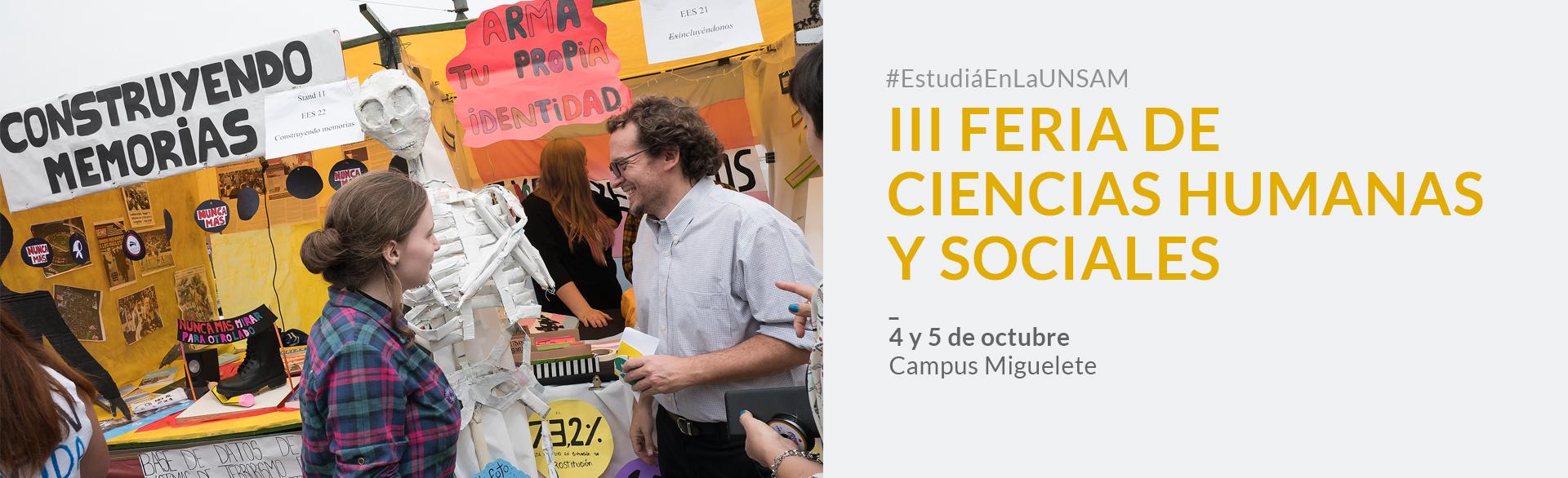 III Feria de Ciencias Humanas y Sociales