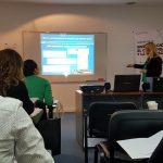 Mariela Golik y María Rita Blanco expusieron su investigación en el congreso SIDI