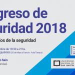 Segundo encuentro del Congreso de Seguridad 2018