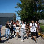 La Escuela Manuel Belgrano recorrió el paseo escultórico del Campus Miguelete