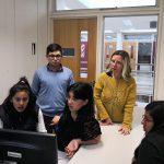 Estudiantes de la Escuela Secundaria Técnica de la UNSAM realizaron prácticas profesionalizantes en el IDAES