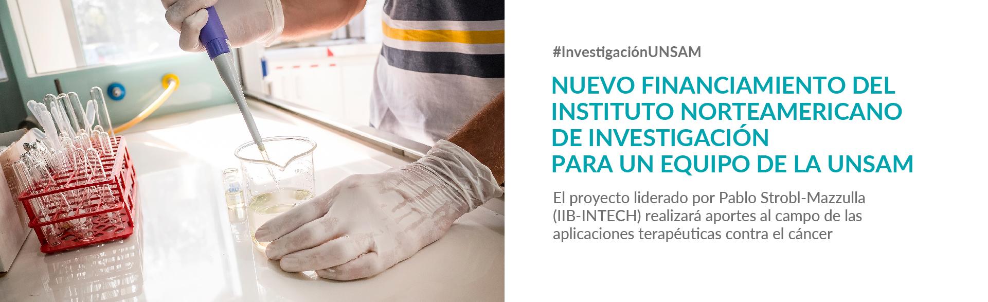 Nuevo financiamiento del NIH para el IIB-INTECH