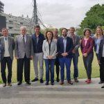 Una delegación alemana visitó el Campus Miguelete