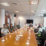 Se realizó una reunión con pasantes UNSAM – SOFSE
