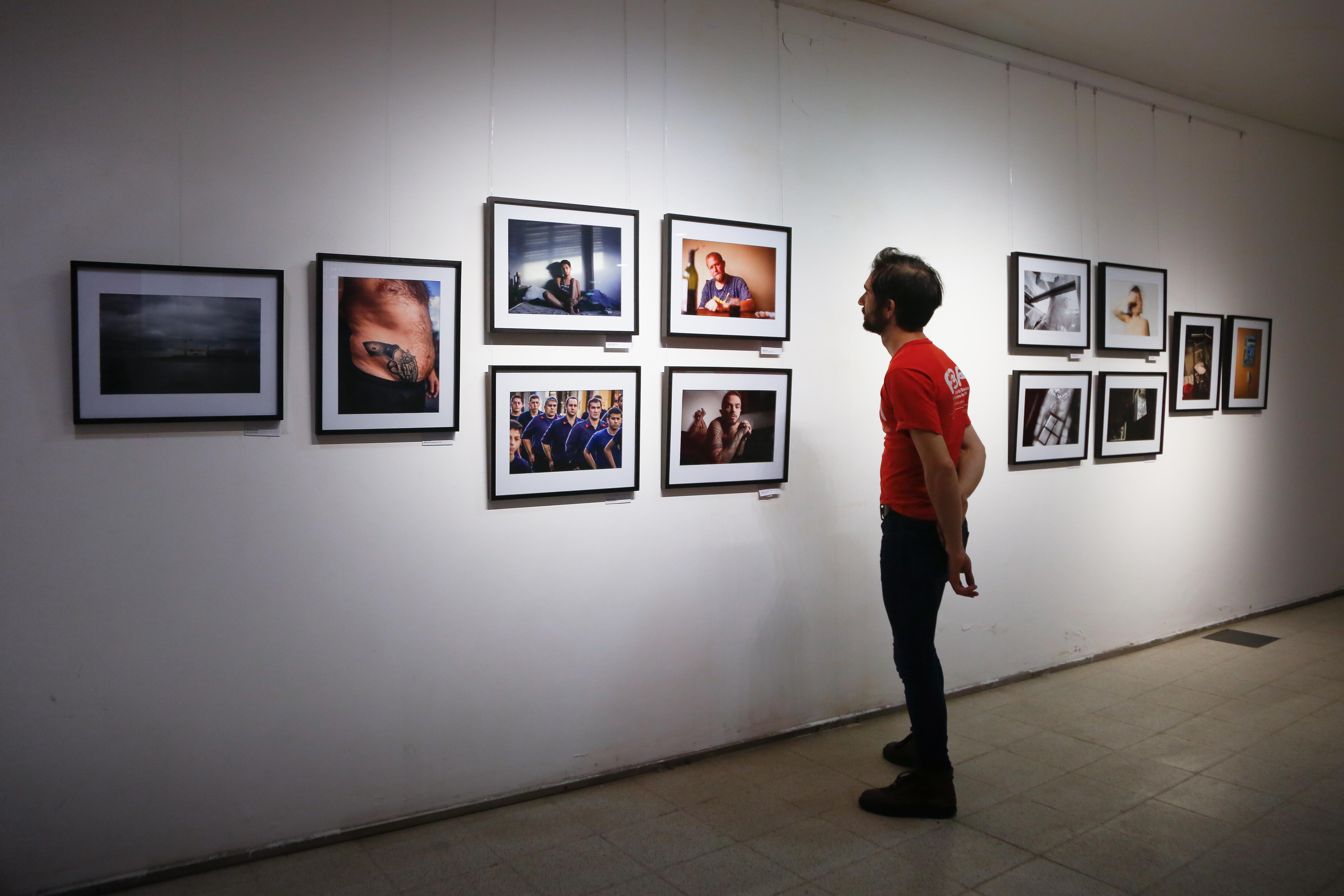Muestra fotográfica de estudiantes.