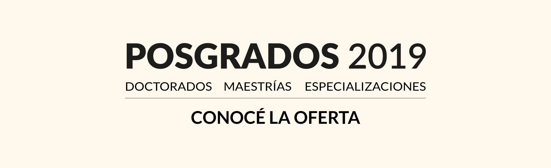 Posgrados UNSAM 2019