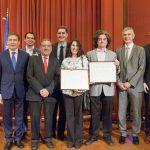 Galo Soler Illia recibió la distinción Franco-Argentina a la Innovación 2018