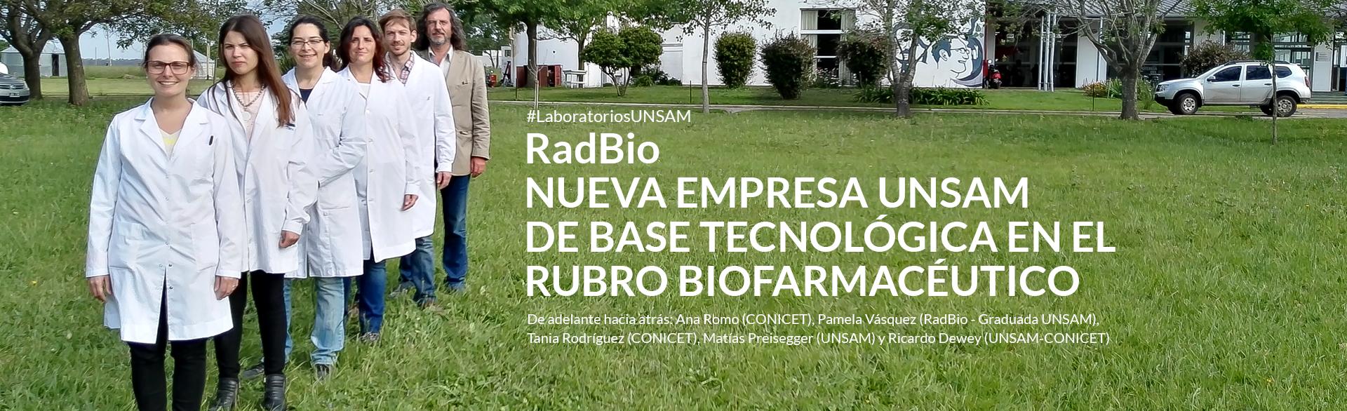 RadBio: Nueva empresa de base tecnológica
